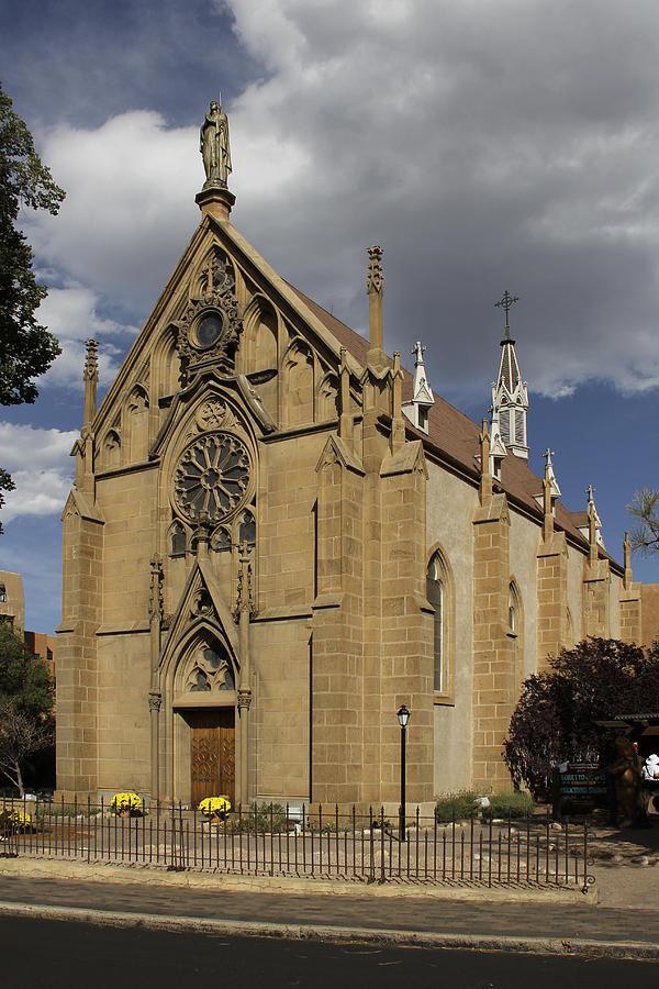 Loretto Chapel Photograph - Loretto Chapel - Santa Fe by Mike McGlothlen