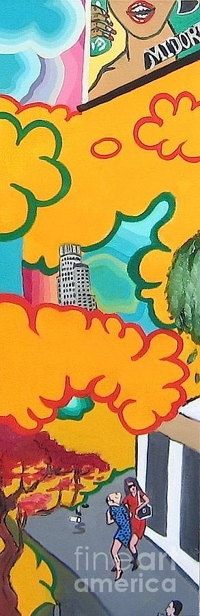 Los Angeles Painting - Los Angeles Landscape by Takayuki  Shimada