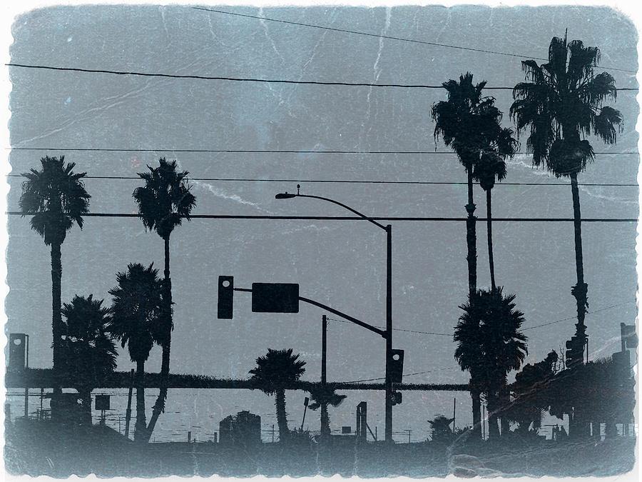 Baywatch Photograph - Los Angeles by Naxart Studio