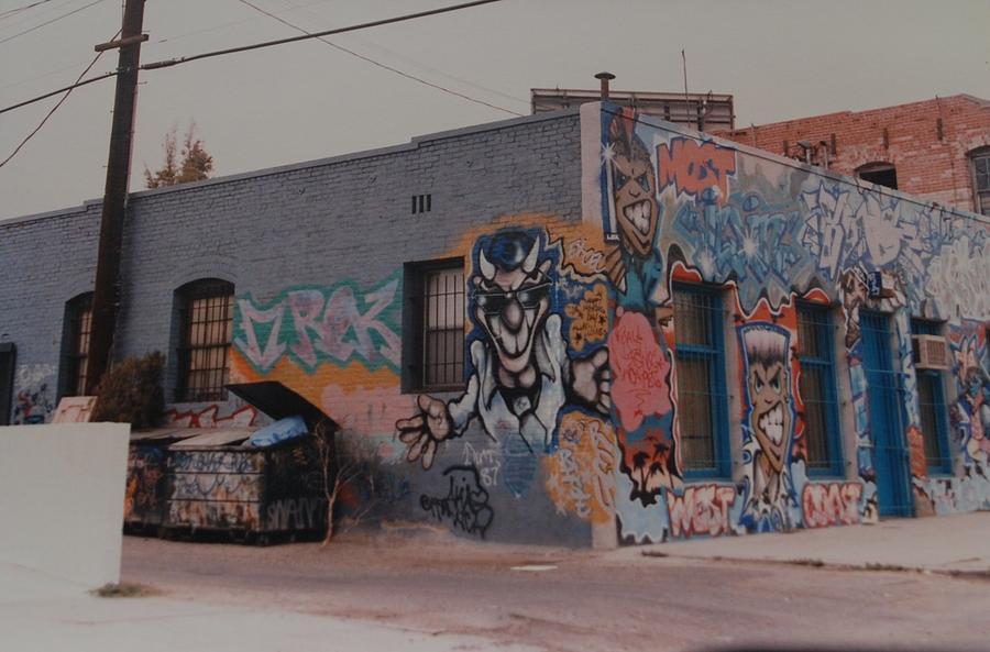 Urban Photograph - Los Angeles Urban Art by Rob Hans