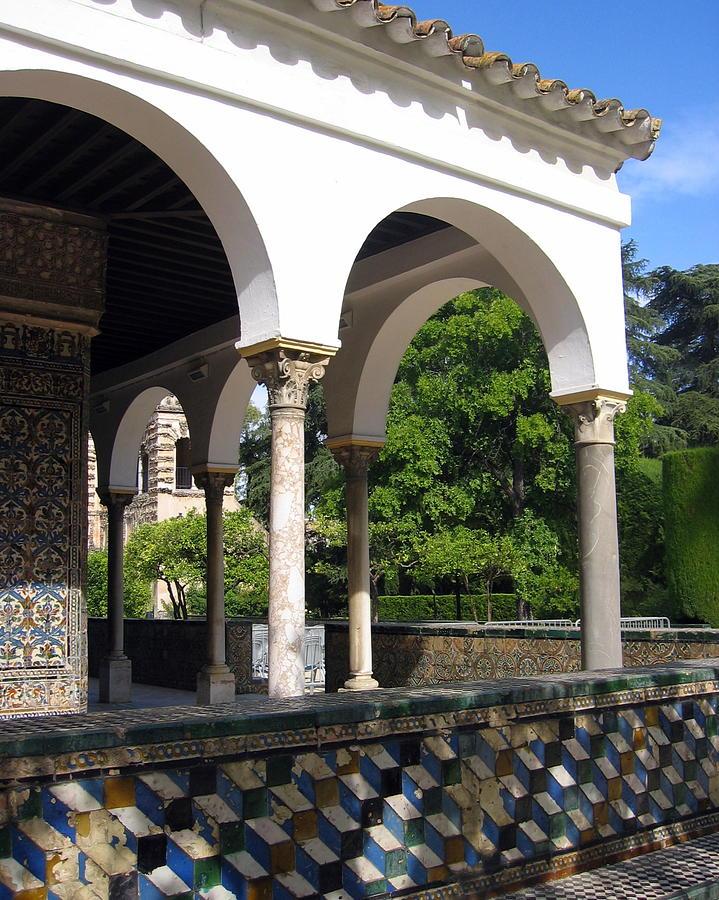 Spain Photograph - Los Jardines Del Real Alcazar by Lindsey Orlando