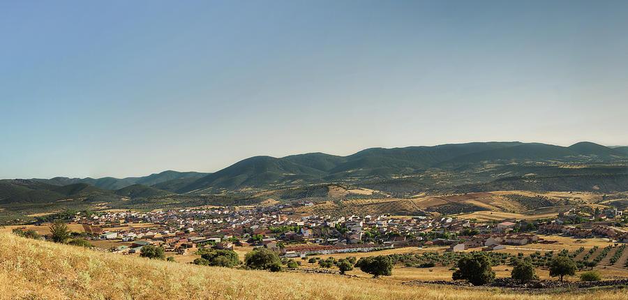 Spain Photograph - Los Navalucillos Panorama by Sam Garcia