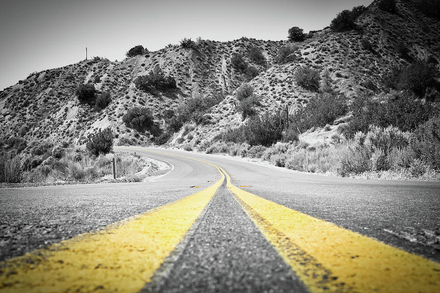 California Photograph - Los Padres Country Highway by Greg McLain