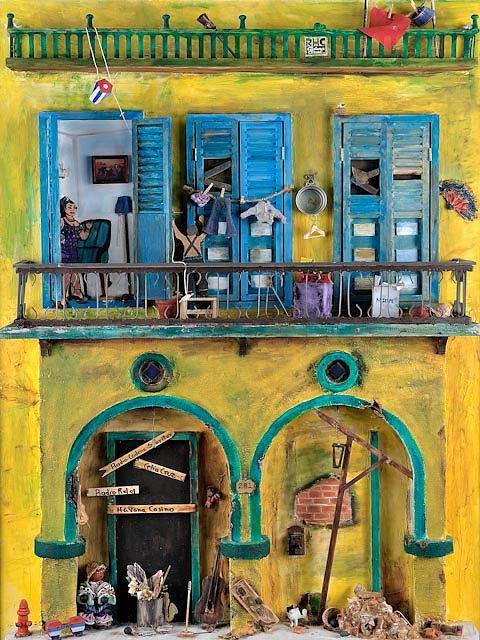 Casa Painting - Los Portales by Marlene Gasiba