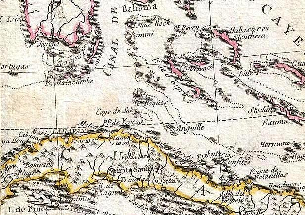 Los Roques 1779 Phelippeaux Case Map Of The United States - Map-of-us-during-revolutionary-war