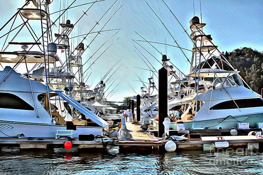 Los Suenos Dock Photograph