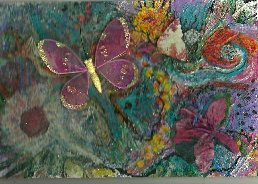 Beautiful .butterfly. Lost Mixed Media - Lost And Found by Anne-Elizabeth Whiteway