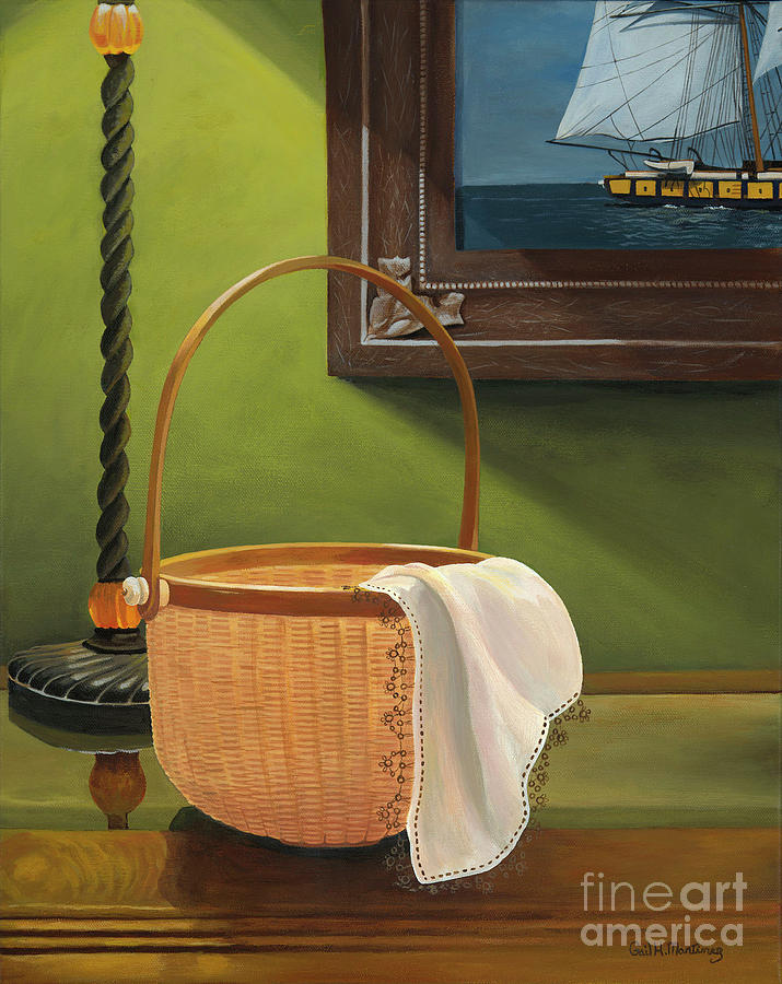 Basket Painting - Lost Art by Gail Martinez