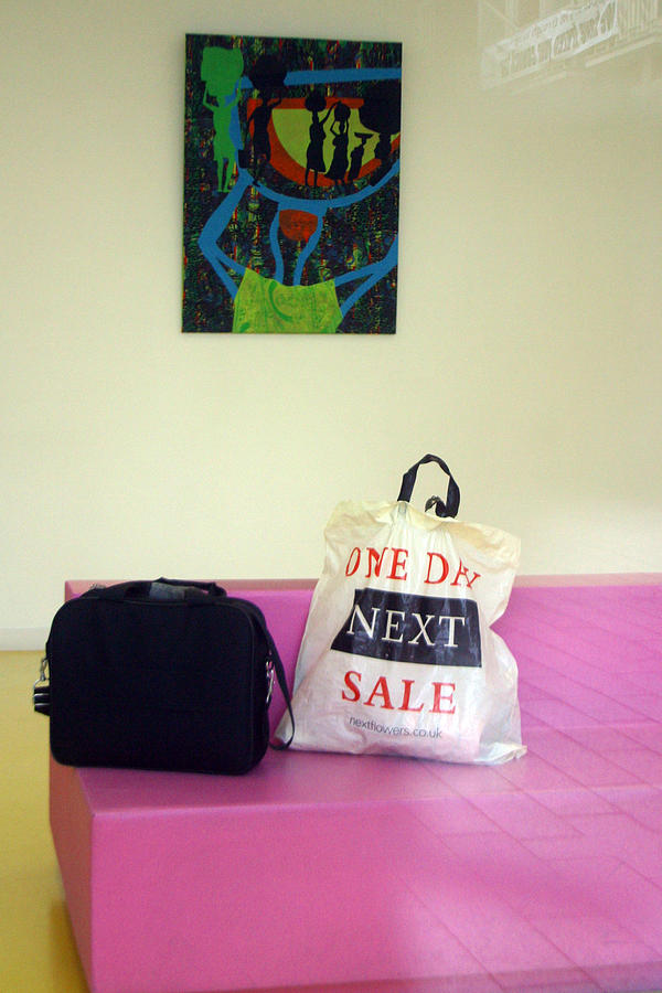 Photographer Photograph - Lost Bags by Jez C Self