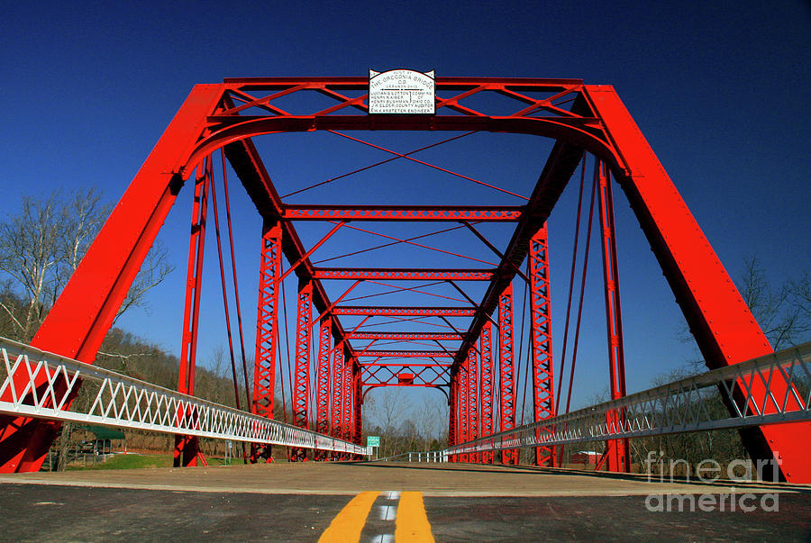 Lost Bridge by Melissa  Mim Rieman