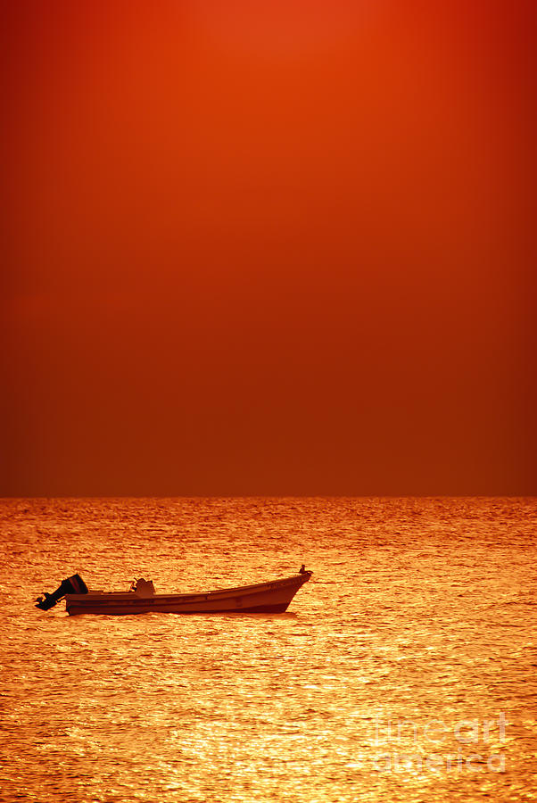 Adrift Photograph - Lost by Charles Dobbs
