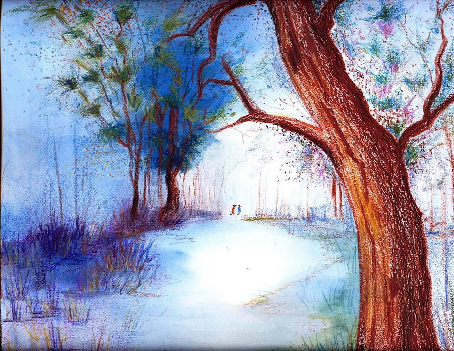 Watercolor Painting - Lost by Chitram Sundharam