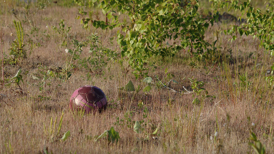 Lost Photograph - Lost Football by Adrian Wale