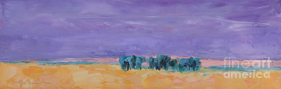 Paintings Painting - Lost Horizon by Marsha Heimbecker