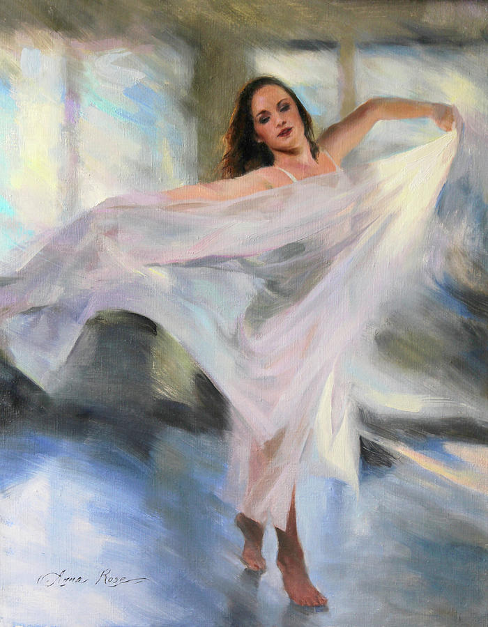 Dancer Painting - Lost in the Moment by Anna Rose Bain