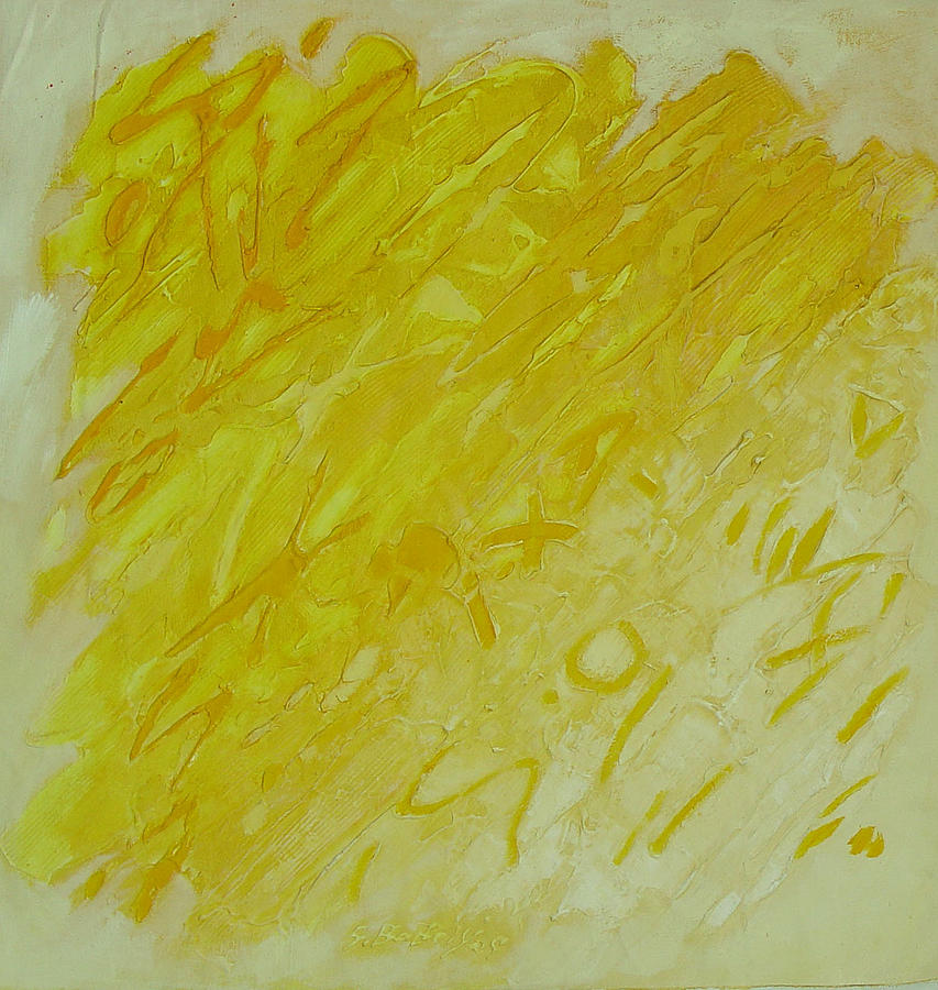 lost letter VIII Painting by Saadi Babely