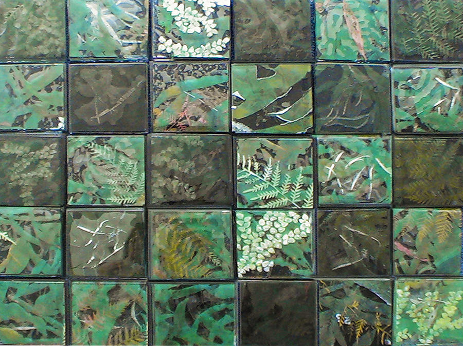 Logging Glass Art - Lost Rainforest by Srah King