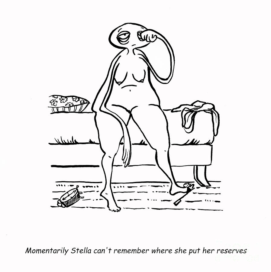 Drawings Drawing - Lost Reserves by Leanne Wilkes