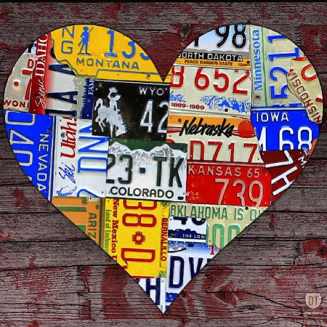 Heart Photograph - Lots Of #valentinesday Gift Options by Design Turnpike