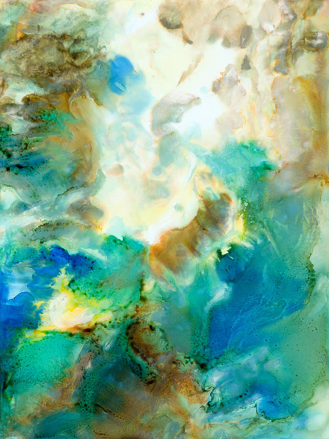 Abstract Painting - Lotta Love - B - by Sandy Sandy