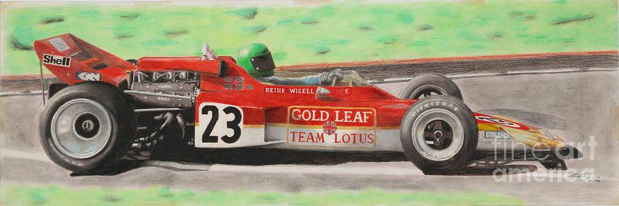 Lotus 72 Reine Wisell by Lorenzo Benetton