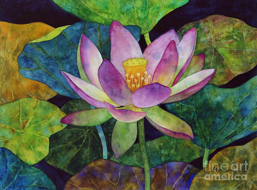 Lotus Bloom Painting
