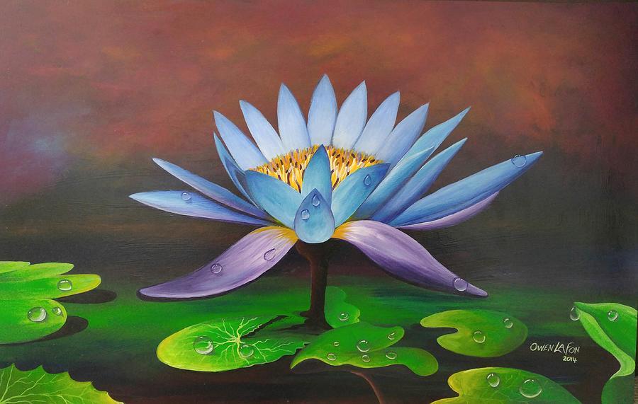 Lotus blossom by Owen Lafon