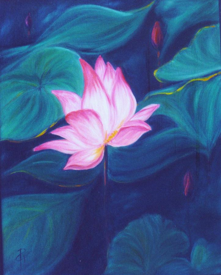 Floral Painting - Lotus by Dina Holland