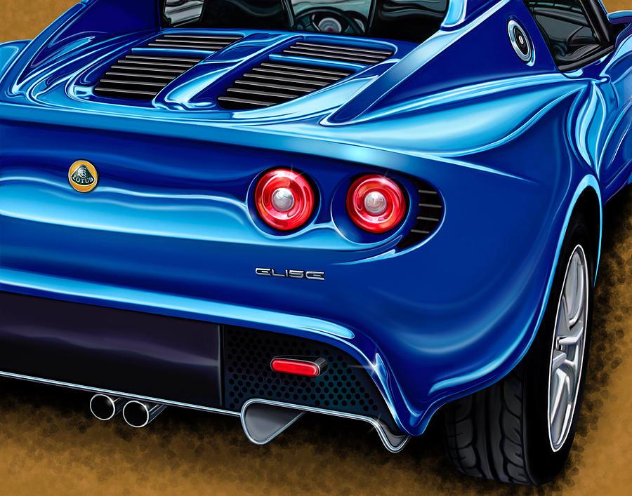 Lotus Elise rearview by David Kyte