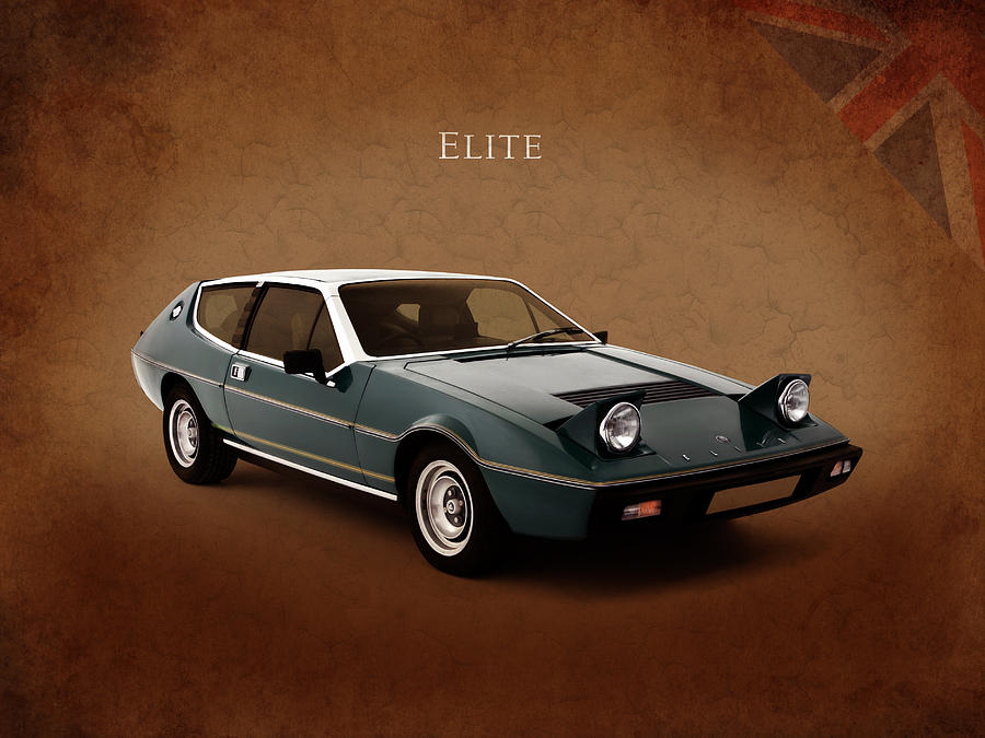 Lotus Photograph   Lotus Elite 1974 By Mark Rogan