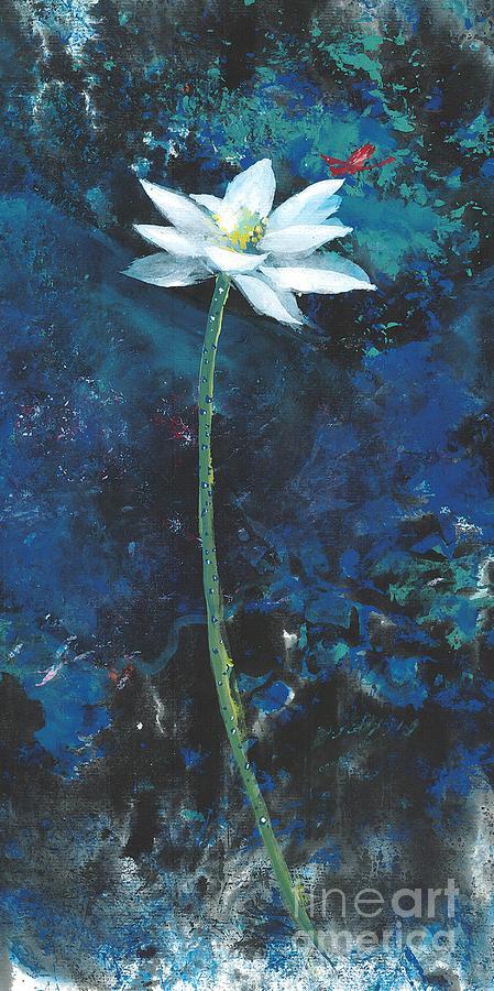 Lotus IIi Painting by Mui-Joo Wee