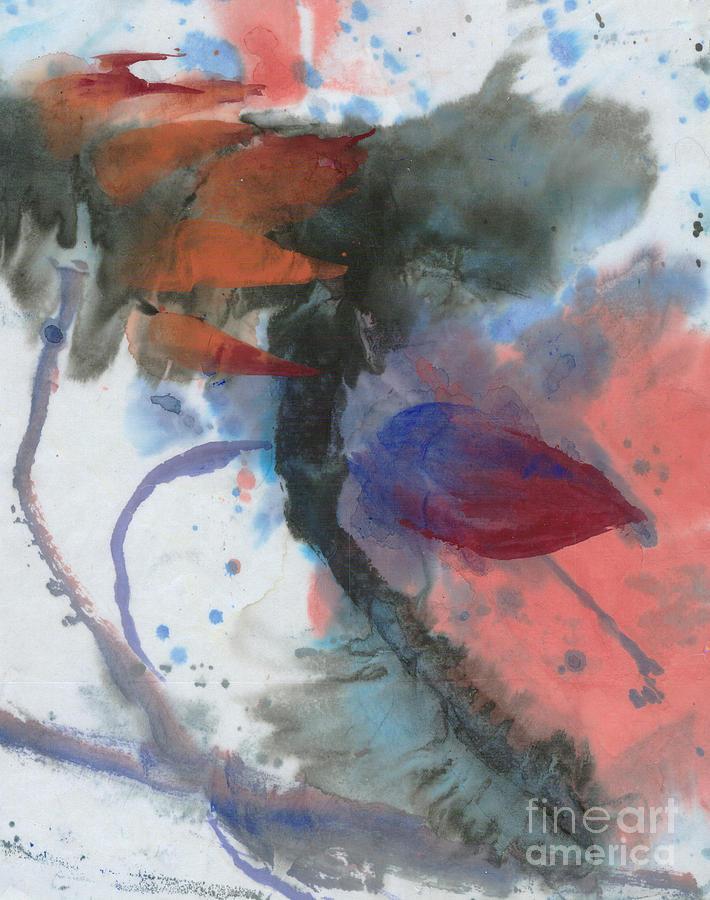 Lotus in the wind by Mui-Joo Wee