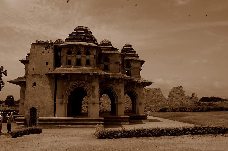 India Photograph - Lotus Mahal by Deepak Pawar