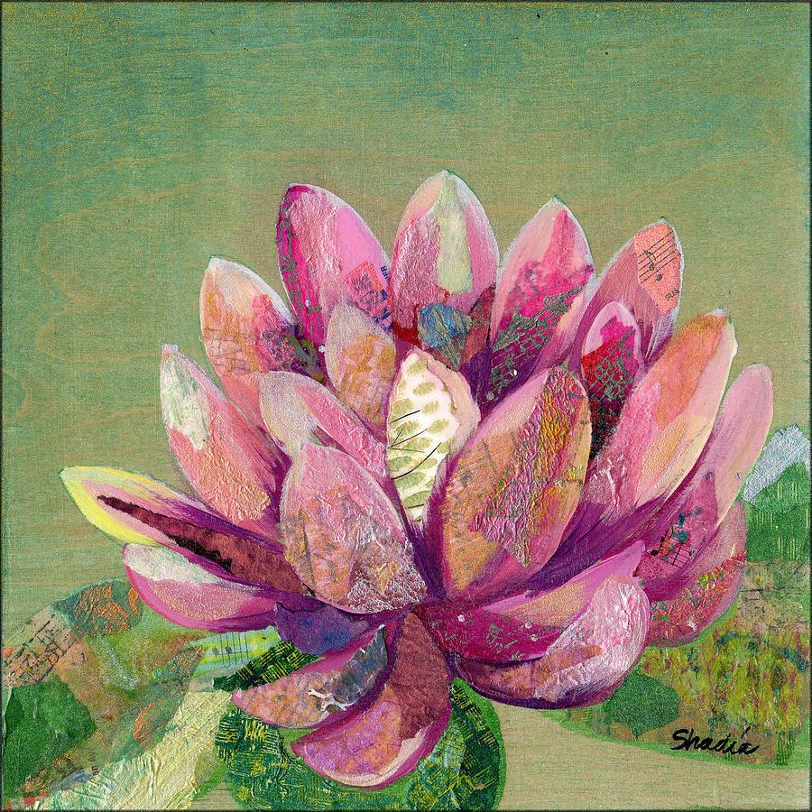 Lotus Series II - 1 Painting
