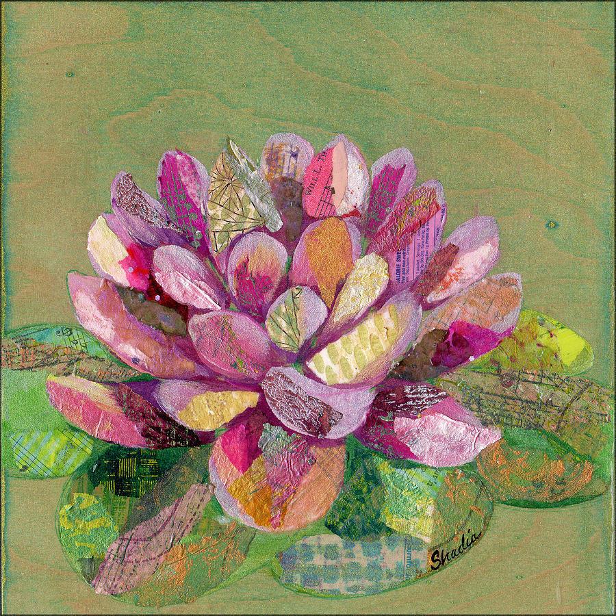 Lotus Series II - 3 Painting