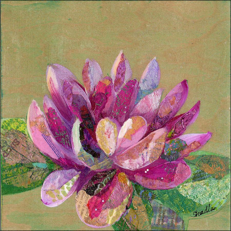 Lotus Series II - 4 Painting