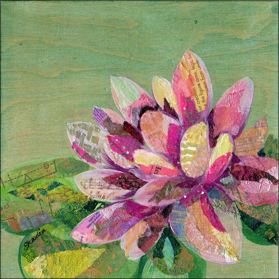 Lotus Series II - 5 Painting