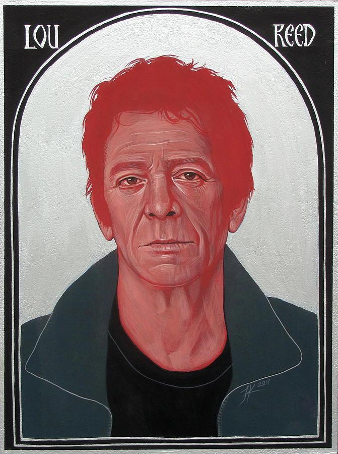 Lou Reed Painting - Lou Reed 2 by Jovana Kolic