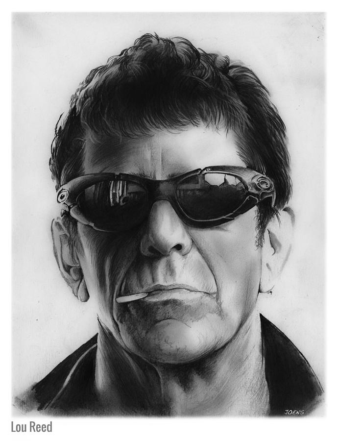 Lou Reed Drawing