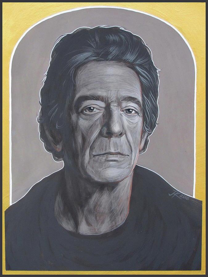 Lou Reed Painting - Lou Reed by Jovana Kolic