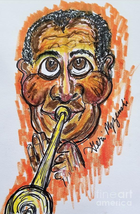 Louis Armstrong Mixed Media