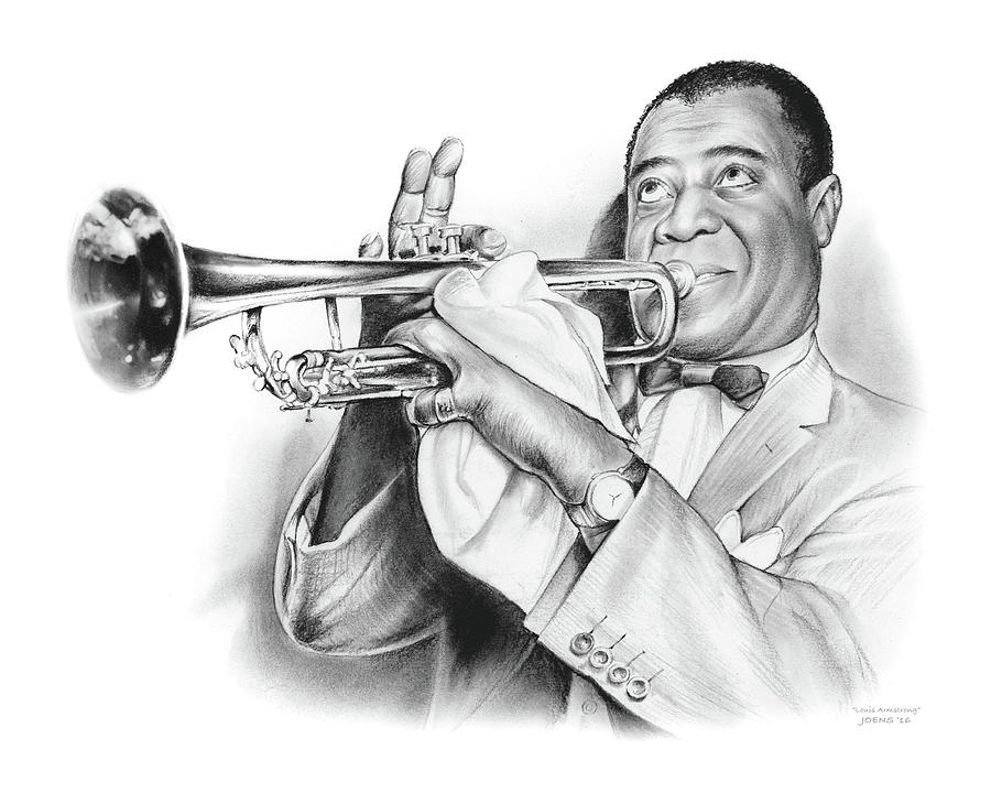 Louis Armstrong Drawing