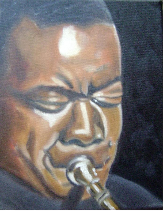 Louis Armstrong Painting - Louis Armstrong by Toni Berry