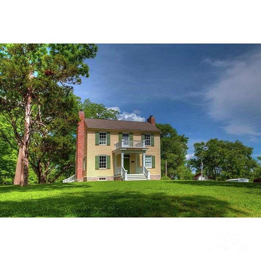 Rural Photograph - Louis Ratte Labruyere House 1784 Ste by Larry Braun