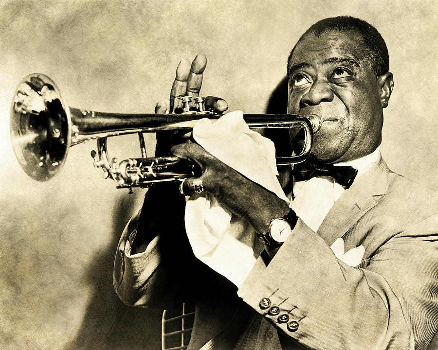Louis Satchmo Armstrong by Anthony Murphy