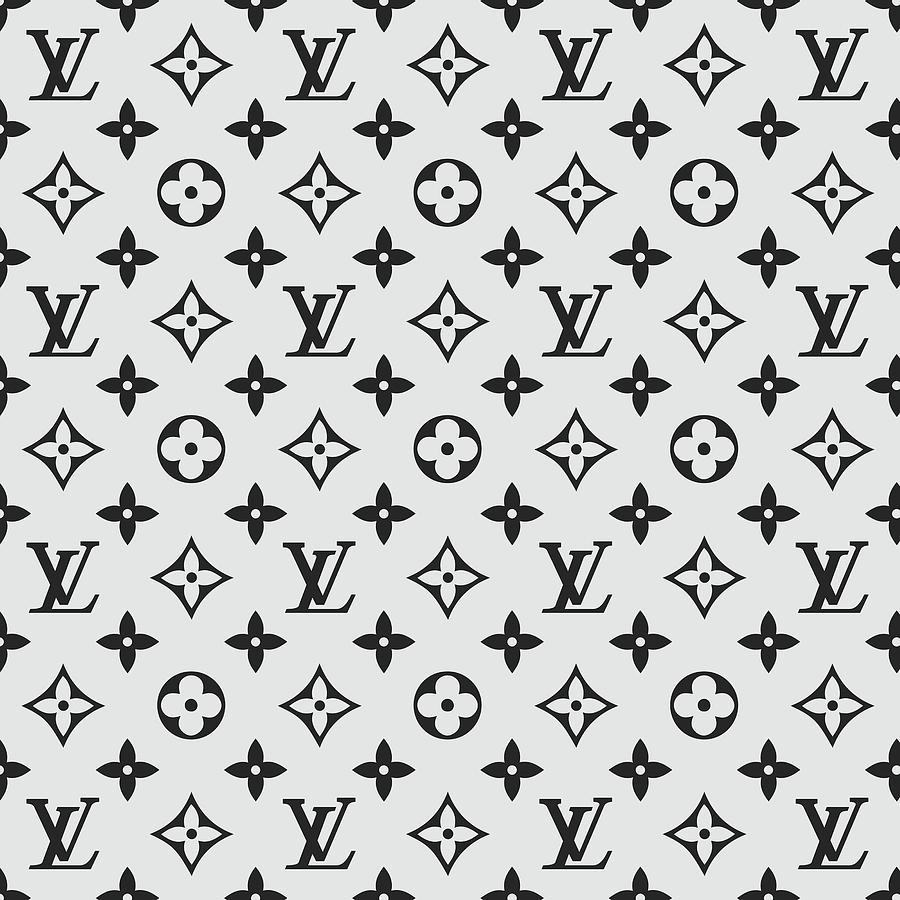 bdf8312895d Louis Vuitton Pattern Lv 07 Grey by TUSCAN Afternoon