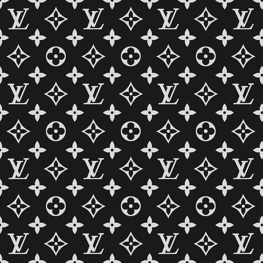 6c667c4c37707 Louis Vuitton Digital Art - Louis Vuitton Pattern - Lv Pattern 06 - Fashion  And Lifestyle