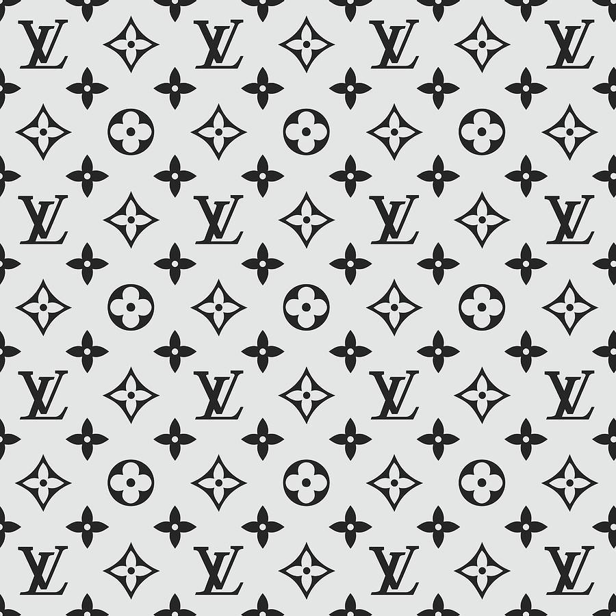 03b45460fb611 Louis Vuitton Digital Art - Louis Vuitton Pattern - Lv Pattern 07 - Fashion  And Lifestyle