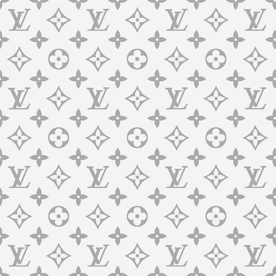 Louis Vuitton Digital Art - Louis Vuitton Pattern - Lv Pattern 14 - Fashion And Lifestyle by TUSCAN Afternoon