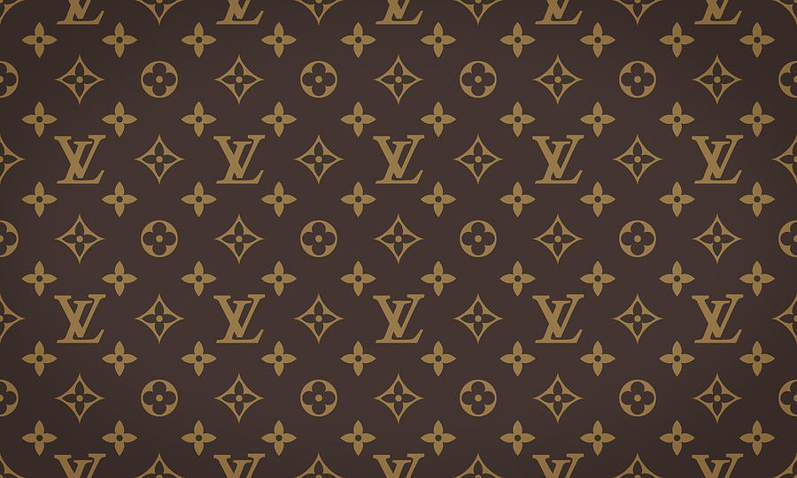 Louis Vuitton Digital Art - Louis Vuitton Texture by Zapista